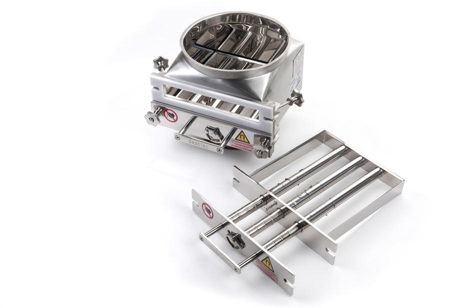 Detalle Separador de Metales